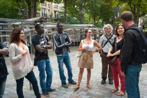 1- Excursion urbaine dans le quartier de ménilmontant